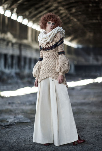 RETRO FOLK - ZAITEGUI FALL WINTER 2016/17